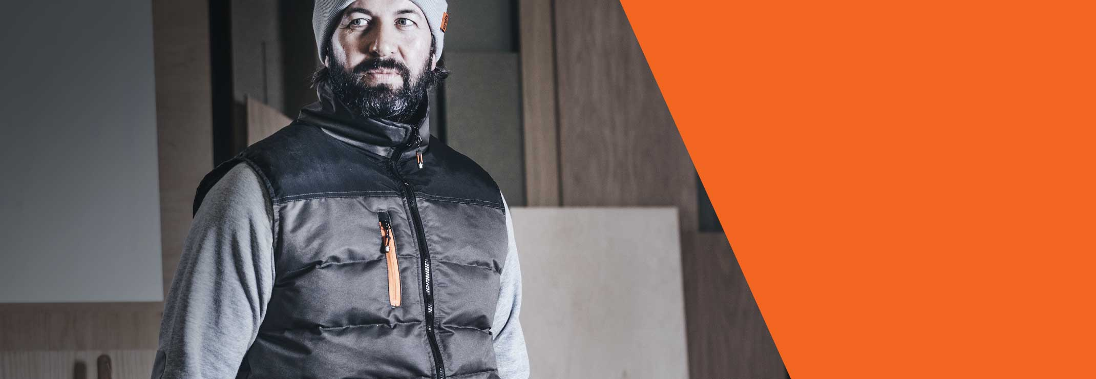 NEW WORKER BODYWARMER