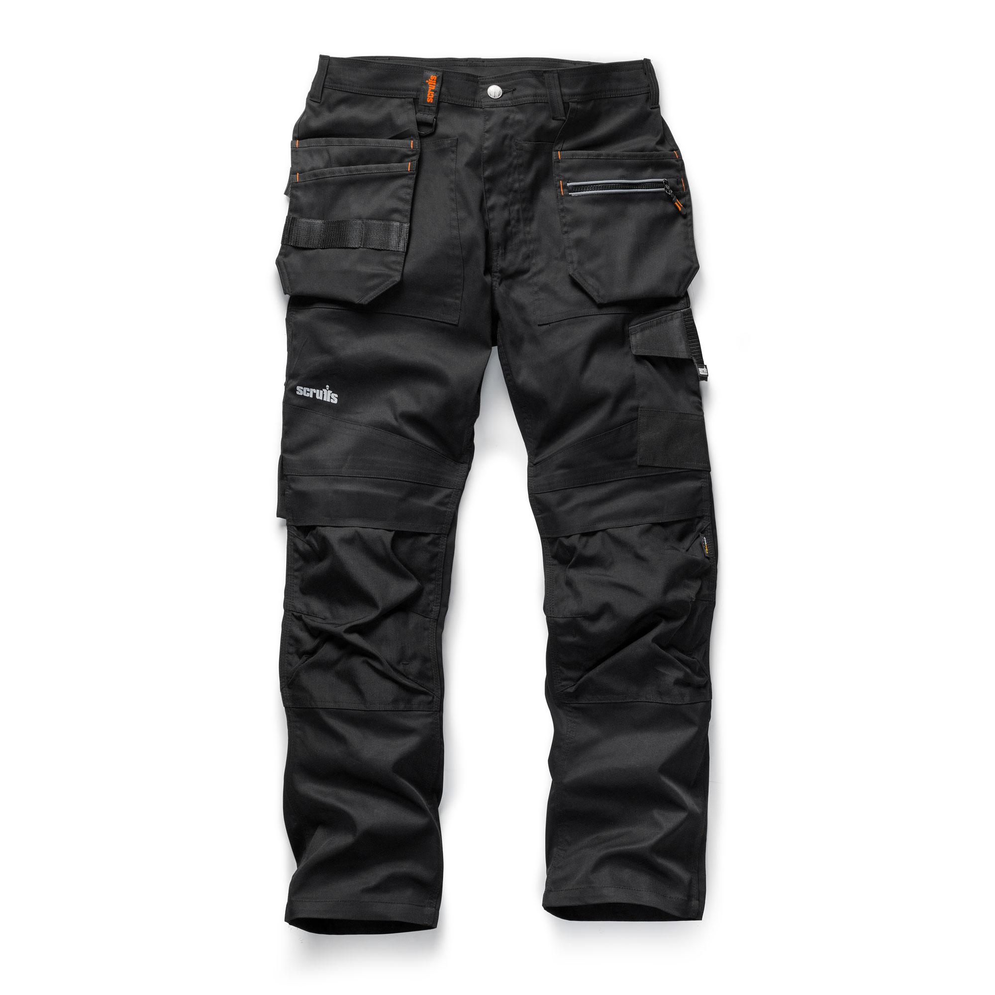 Apache black adjustable stretch woven trouser work belt